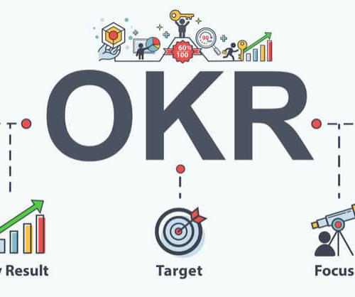 OKR diagram